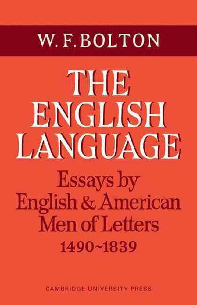 essay on english language and literature