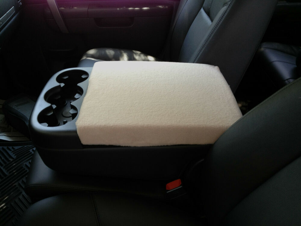 auto center armrest covers center console cover c2 taupe ebay. Black Bedroom Furniture Sets. Home Design Ideas