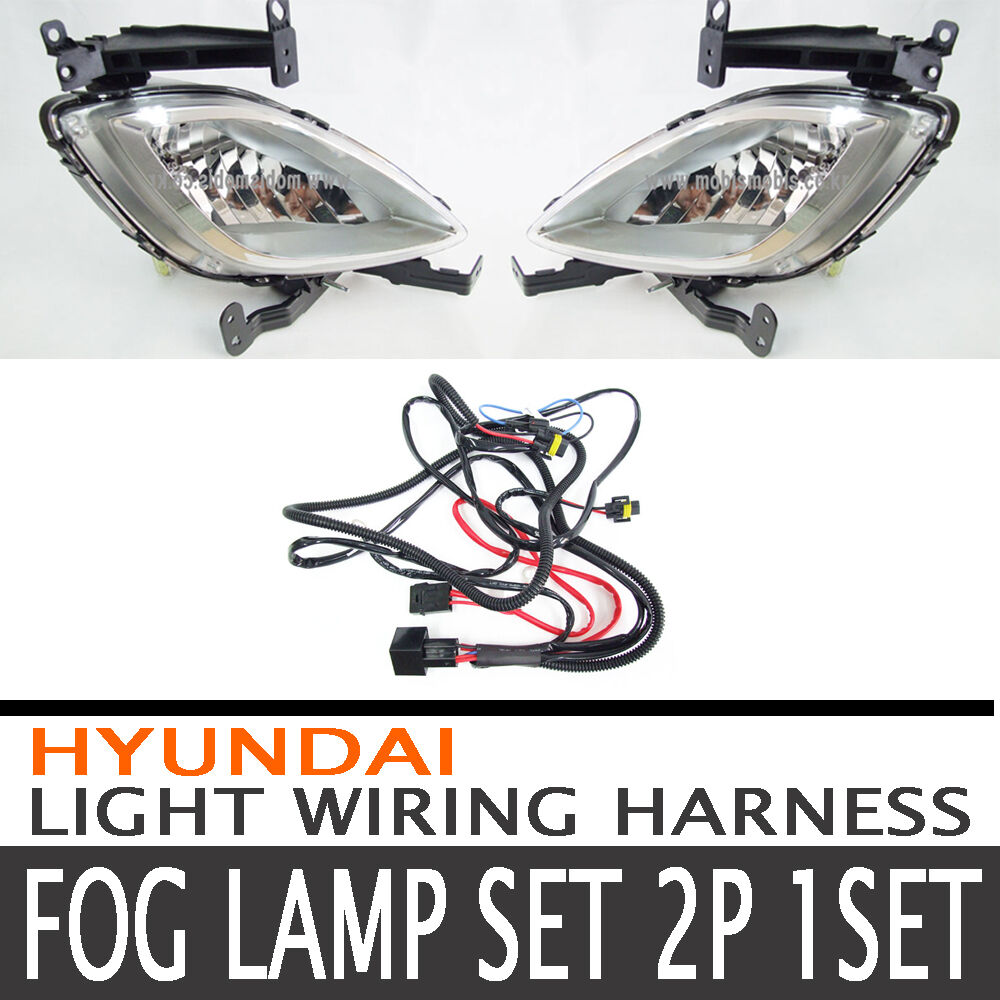 Fog Lamp Light Wiring Harness Complete Kit Fit 2011 2012