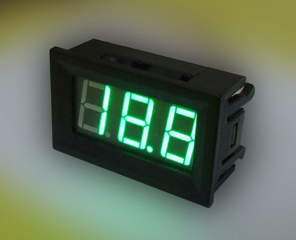 dc digital amp current meter ammeter 0 50a green led no. Black Bedroom Furniture Sets. Home Design Ideas