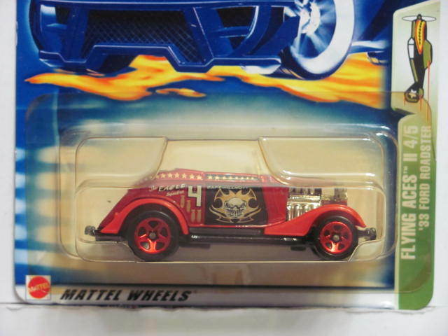 33 Ford Wheels : Hot wheels flying aces ii ford roadster