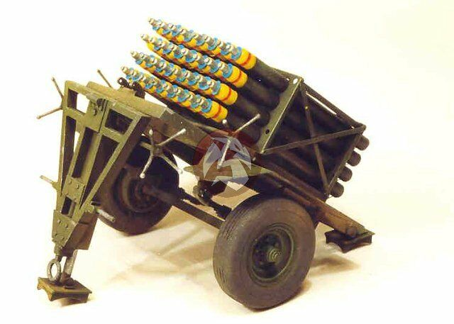Resicast 1 35 Land Mattress Canadian Rocket Launcher Mk I
