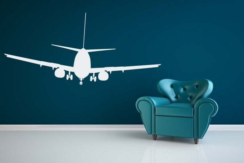 Airplane decal airplane wall decal airplane nursery for Decor agency