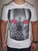 MENS DESIGNER NOT GUILTY 50 SHADES OF GREY COTTON T SHIRT SIZES S-XXL