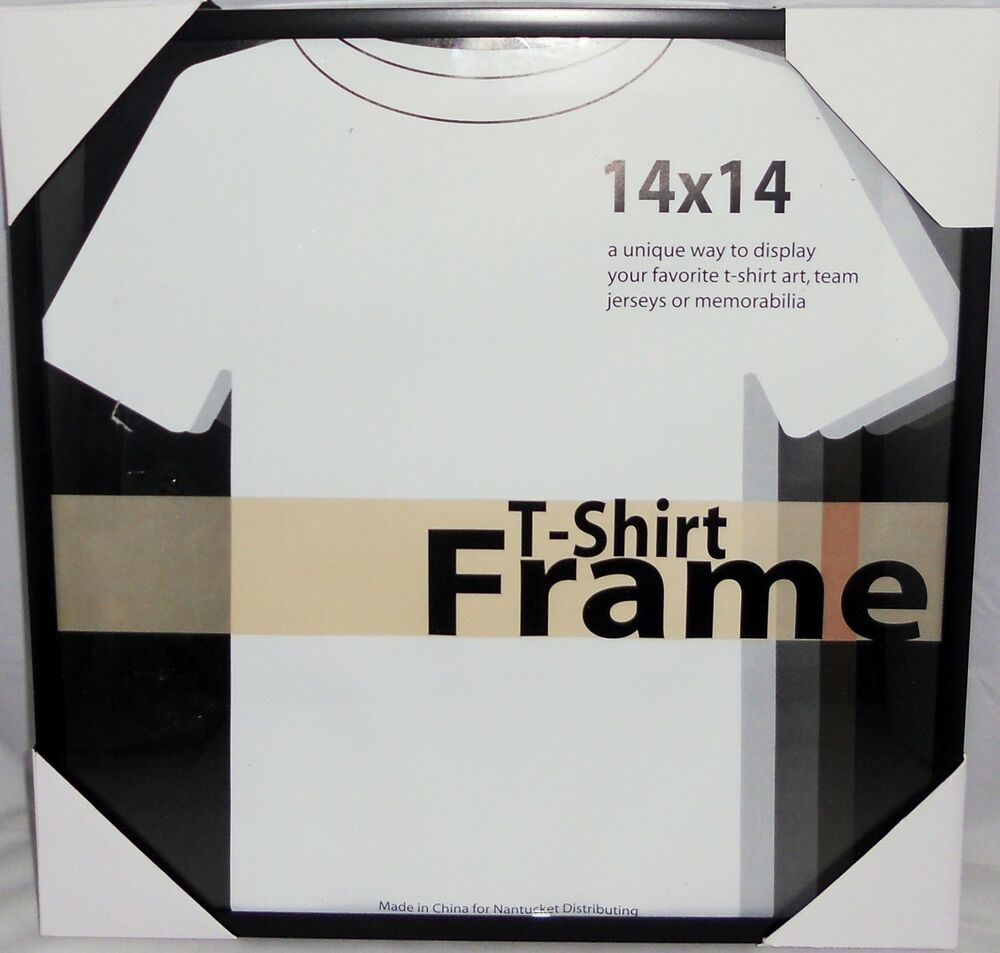 t shirt frame 14 x 14 display t shirts as art ebay. Black Bedroom Furniture Sets. Home Design Ideas