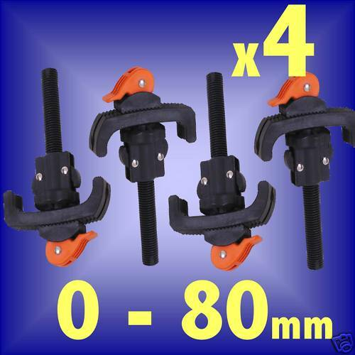 4 CLAMPS for workbench workmate vice woodworking bench | eBay