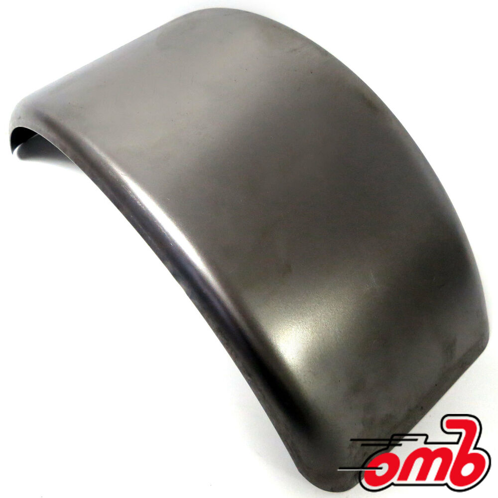 Unplated Mini Bike Fender For 6 Quot Amp 8 Quot Tires Ebay