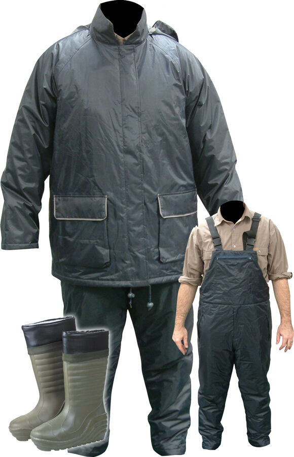 Mdi All Weather Fishing Thermal Waterproof Two Piece Suit
