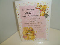 Dear Wife Anniversary Card (008)