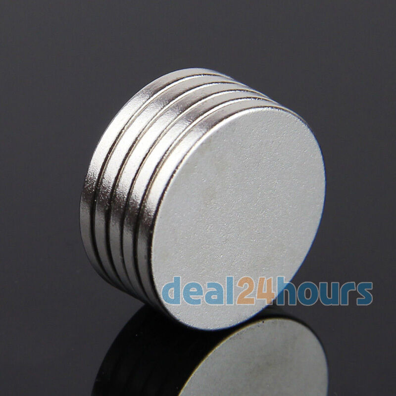 5pcs 20mm x 2mm disc rare earth neodymium super strong for Where to buy magnets for crafts