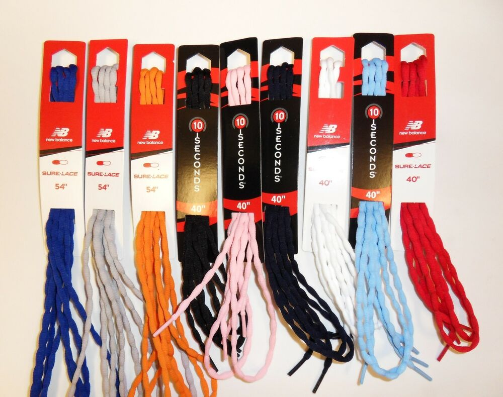 new balance trainer laces