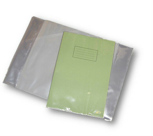 School Book Cover Slips ~ Pack a school exercise book covers mm clear