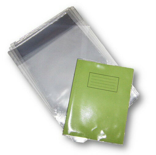 1 X School Exercise Book Cover 230mm X 363mm Clear Plastic