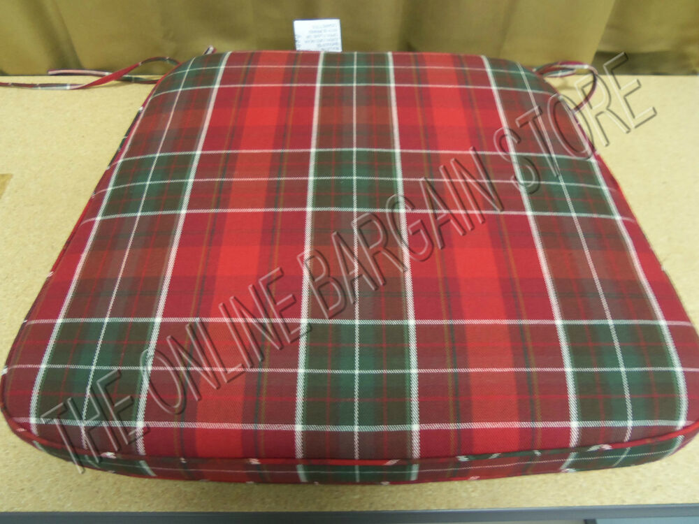Pottery Barn Classic Red Macallan Plaid Check Dining Chair  : s l1000 from www.ebay.com size 1000 x 750 jpeg 132kB