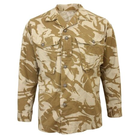 img-British Desert DPM Camo Field Shirt - Army Military Surplus Issued Jacket Top