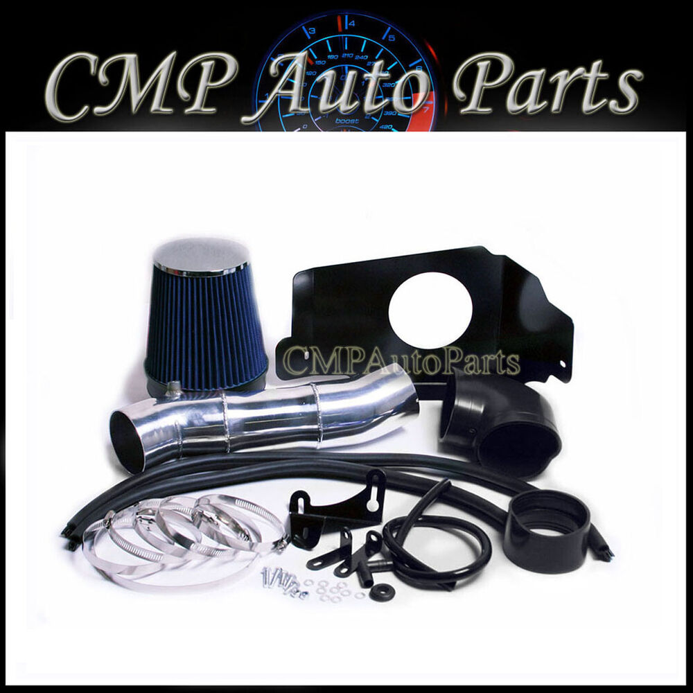 2005 2009 mustang gt 4 6 4 6l v8 cold air intake kit induction systems blue ebay. Black Bedroom Furniture Sets. Home Design Ideas