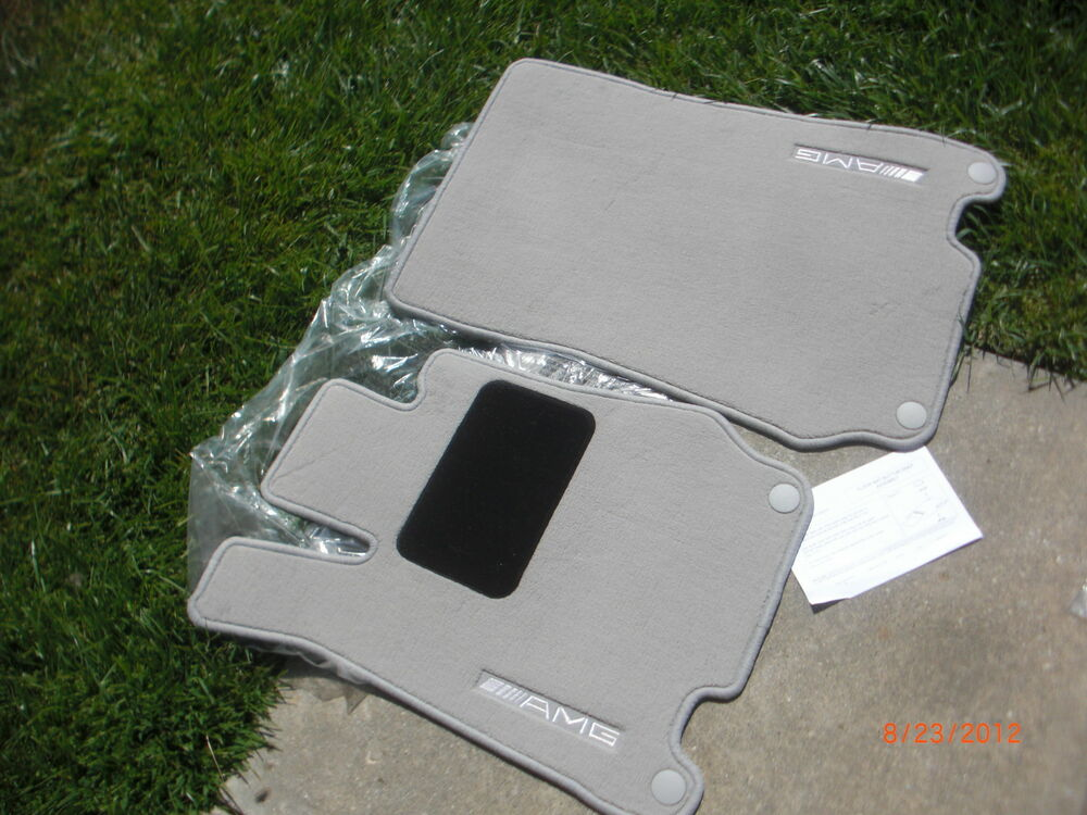 Mercedes benz floor mat mats w230 sl55 sl63 sl550 sl65 for Mercedes benz sl550 floor mats