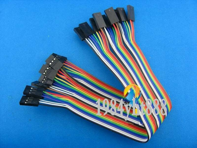 4 Pin Cable Arduino : Pcs p feale to female cm dupont wire cable pin