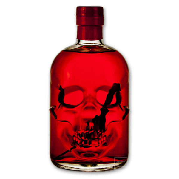 Red Chili Head Absinthe - Skullbottle - 0,5l - 55% vol. - HOT AND STRONG