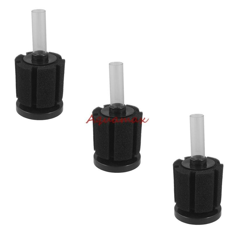 3x small fish tank bio filter aquarium bio sponge filter for Betta fish tank with filter