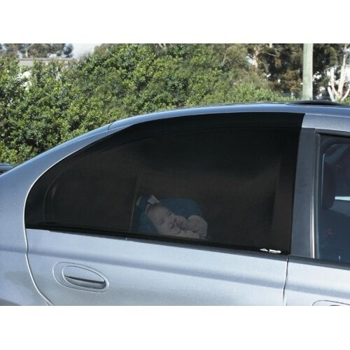 Car Side Rear Window Sock Sun Shade Slipon 2 Sock Sox Auto