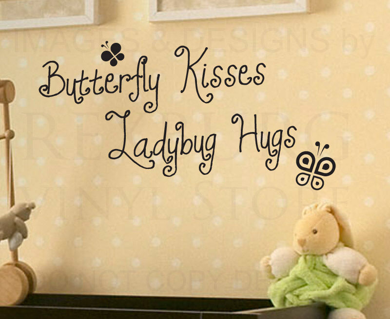 Wall Decal Quote Vinyl Sticker Art Removable Butterfly