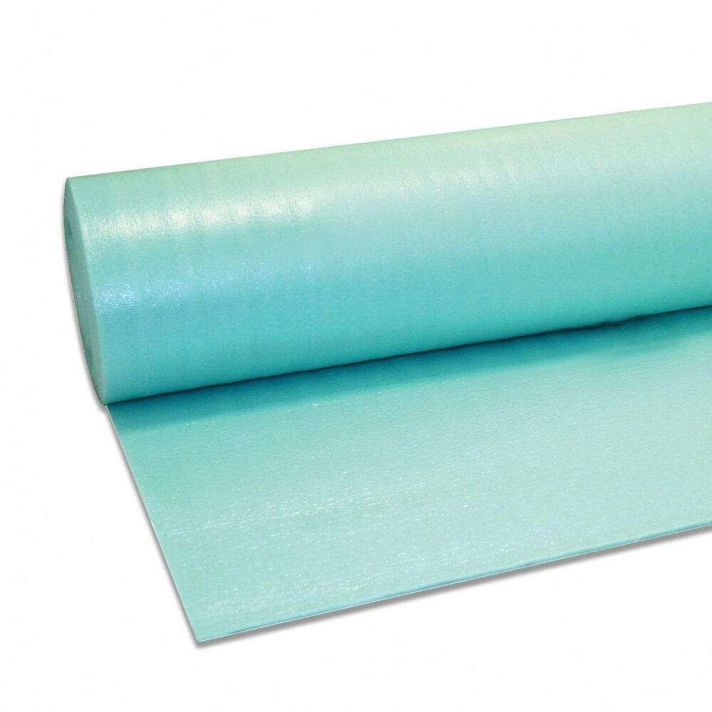 15m2 3mm green underlay vapour barrier membrane wood for Wood floor underlay 5mm