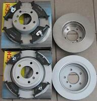 NEW SET BOSCH REAR FRONT BRAKE DISCS + PADS FORD MONDEO III MK3 1.8 2.0 2.5 TDCI