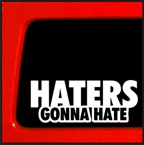 Import Car Stickers Haters Gonna Hate JDM ...