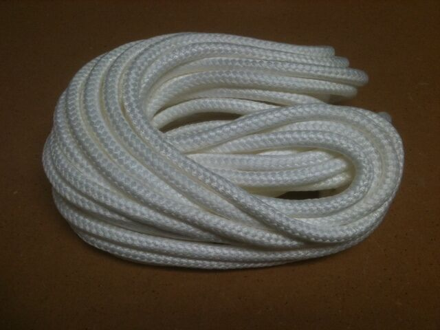Silica Rope Gasket Cotronics Braided Fire Rope Stove Wick