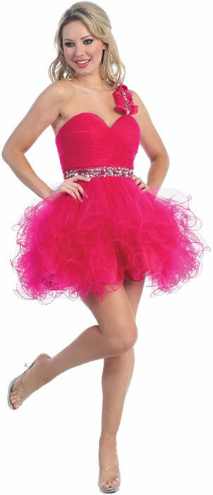 Fun Short Tutu Prom Sweet 16 Party Dress Special Occasion ... - photo #41