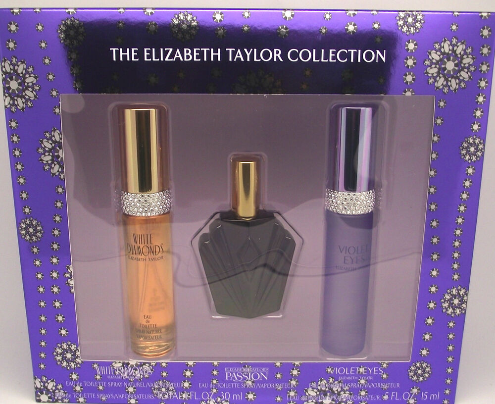 Taylor Gift: The Elizabeth Taylor Collection ** 3 Piece Gift Set ** 2