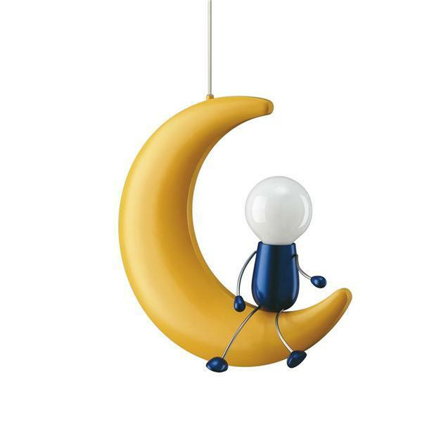 Childrens Ceiling Light - Man On The Moon Novelty Ceiling Light - 40092/34/10 eBay