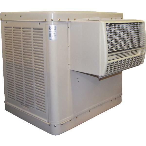 Window Evaporative Swamp Cooler : Essick cfm window evaporative swamp cooler ebay
