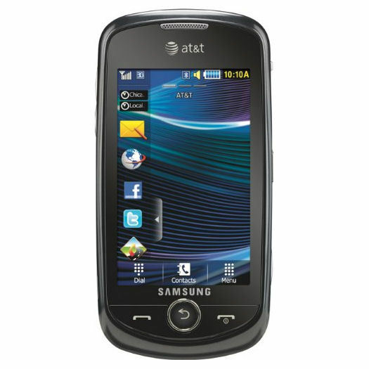 Samsung A817 Solstice II Unlocked 3G Touch Screen Cell ...