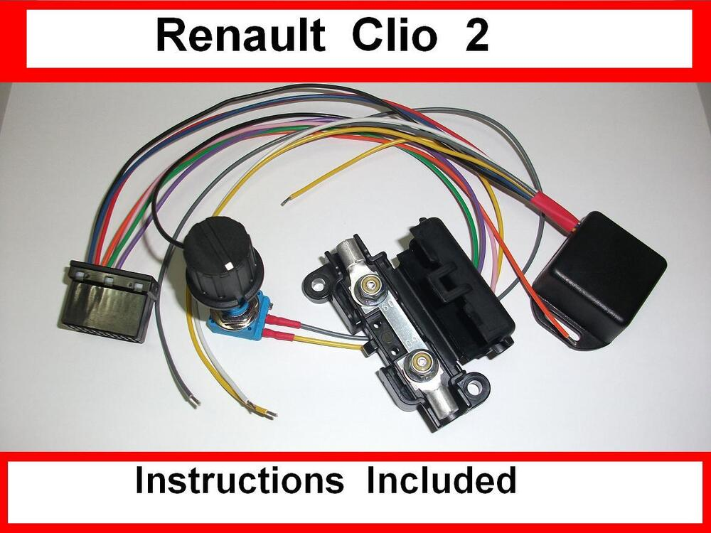 Renault Clio 1 2 Ecu Wiring Diagram : Renault clio kit electric power steering controller
