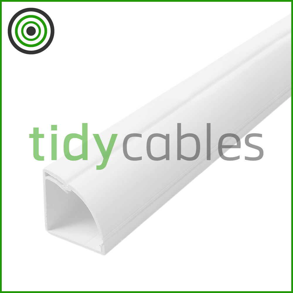 D Line 22x22 Quadrant Tv Floor Cable Tidy Cover Wire