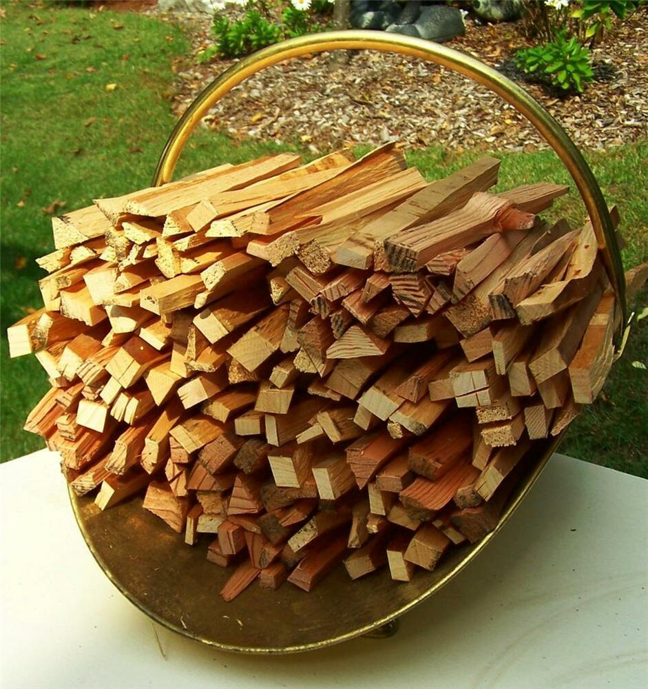 Kindling Fire Starter Wood Dry New England Evergreen Mix