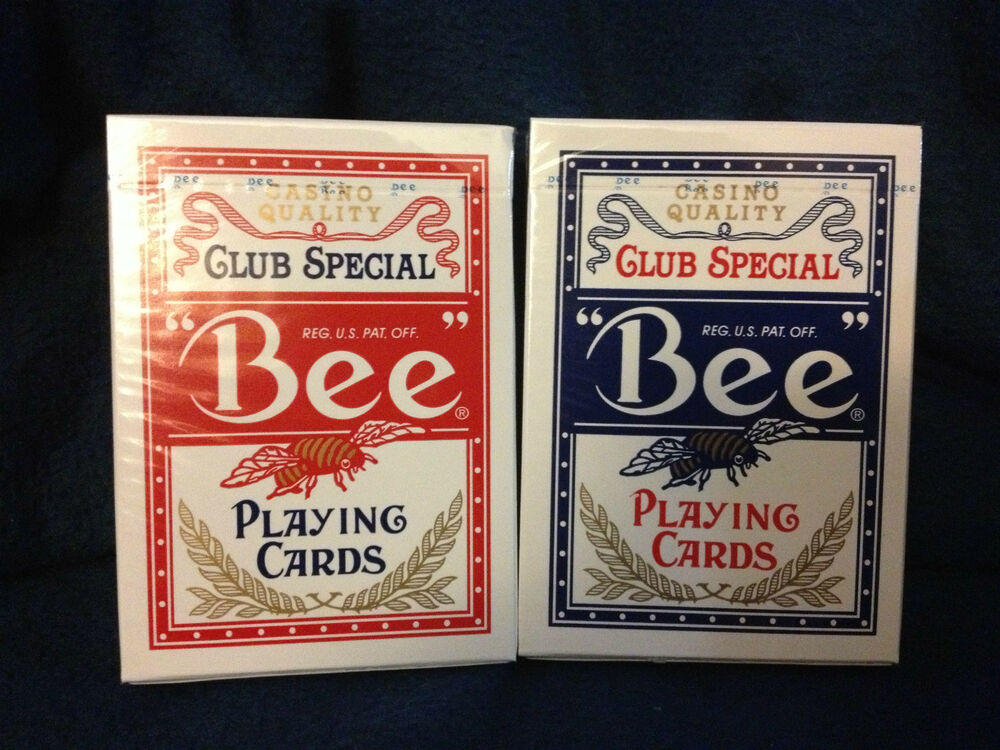 casino quality club special bee playing cards