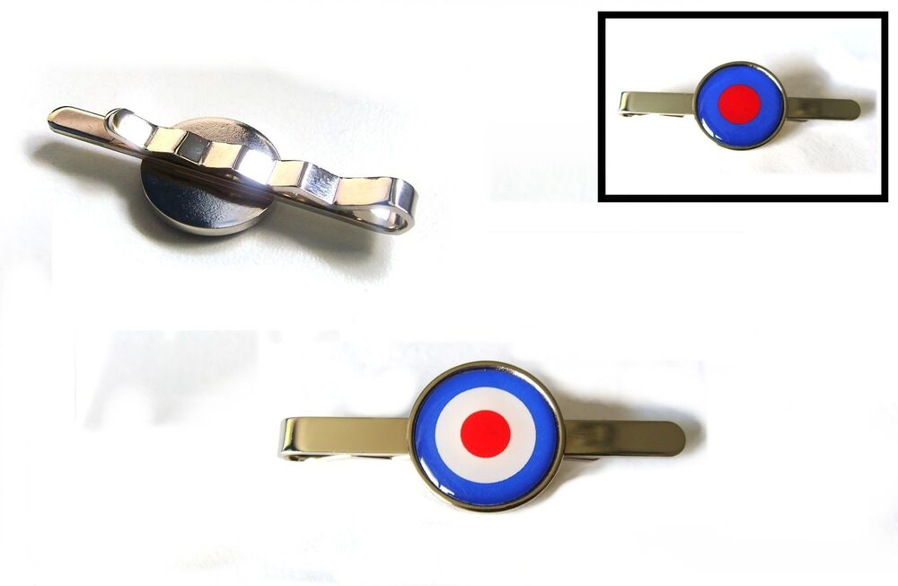 971fd12dbb18 Details about ROYAL AIR FORCE RAF ROUNDEL MOD TIE SLIDE TIE GRIP PIN BAR  GIFT