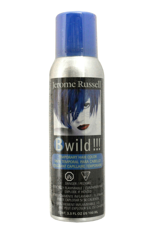 Jerome Russell B Wild Temporary Hair Color Spray 6 Colors