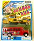 School Bus Diecast Model ?1:64 Free Wheeling Toy Red NEW