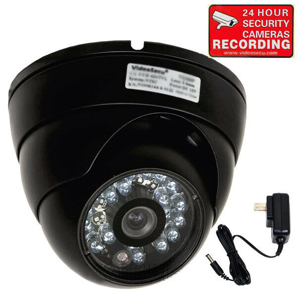 Security Camera Outdoor Day Night Vision Wide Angle Bullet