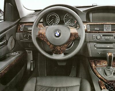 Bmw Oem E92 E93 3 Series Coupe Convertible 2007 13 Walnut Wood Interior Trim Kit Ebay