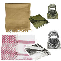 New Military Army SHEMAGH SCARF ARAB/SAS/RETRO Tactical ( 4 colours available