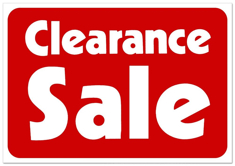 Clearance Sale Retail Store Sale Business Discount ...