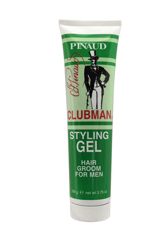 hair styling gel for men pinaud clubman styling gel hair groom for 3 75 oz 8832 | s l1000