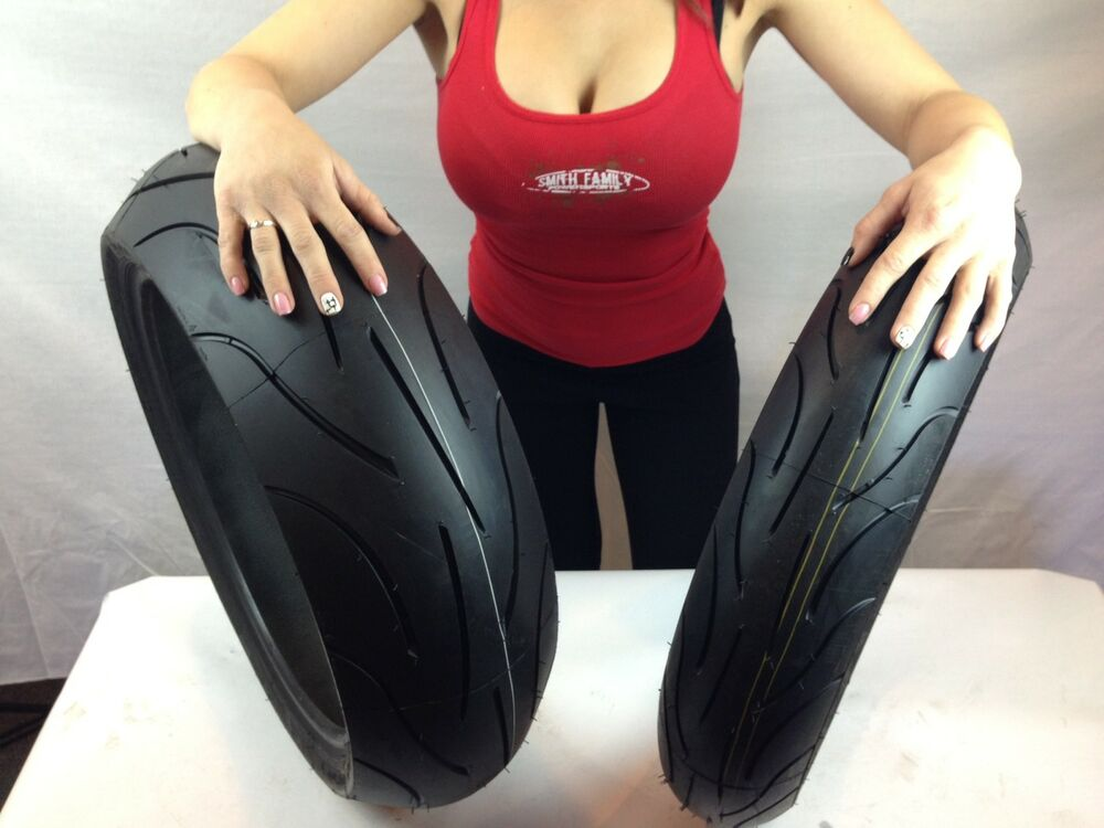 MICHELIN PILOT POWER 2CT 120/70ZR17 & 190/50ZR17 190 50 17 ...