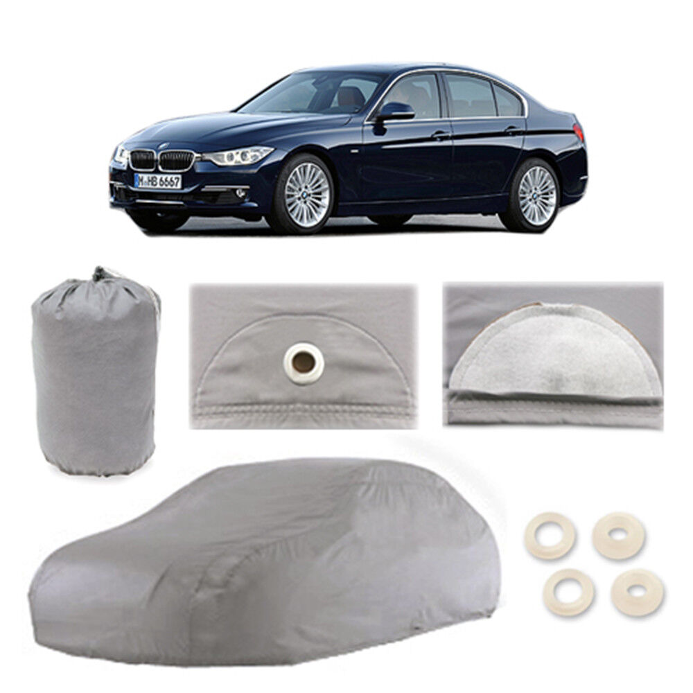 BMW 3 Series 5 Layer Car Cover Waterproof Outdoor Rain