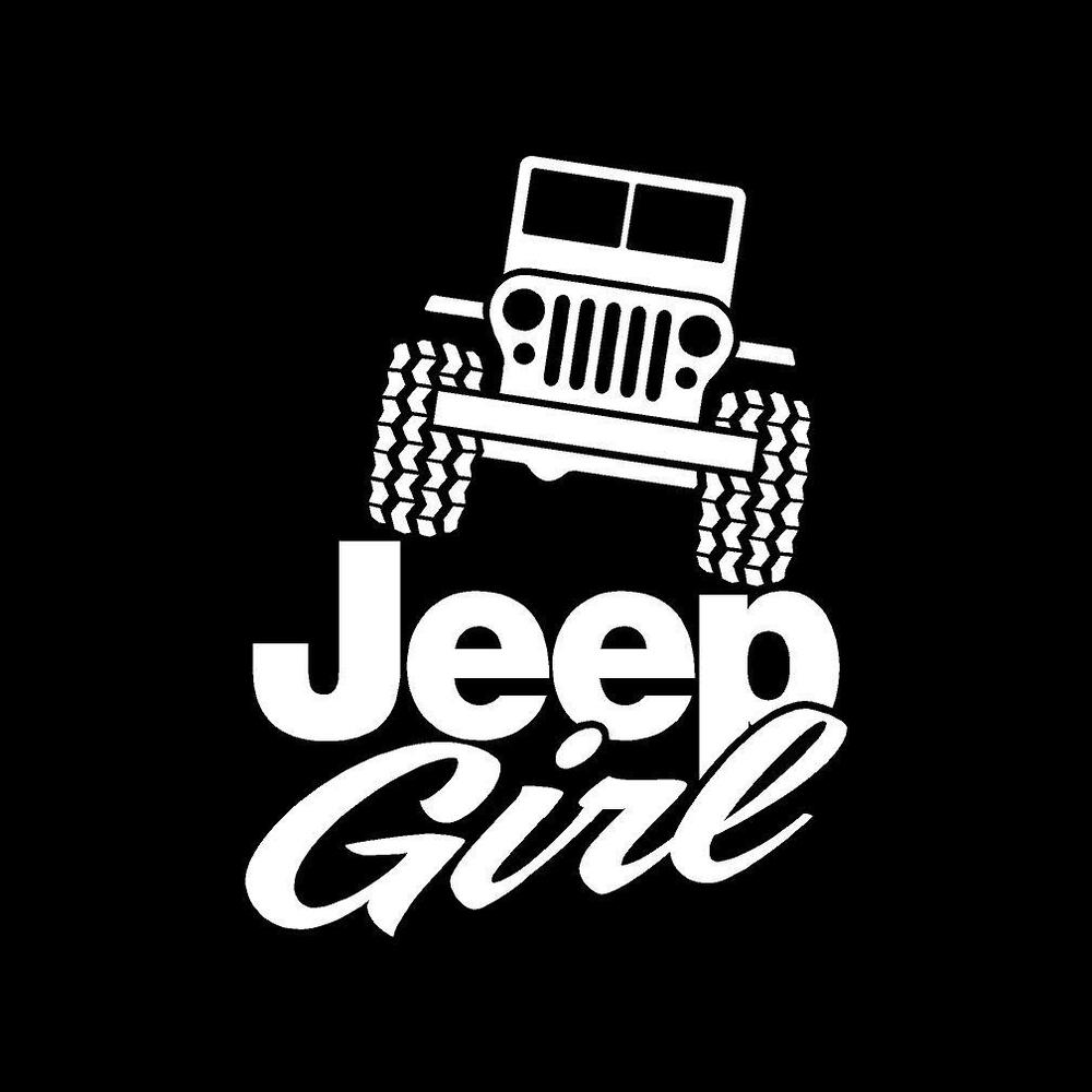 Girls That Love Jeep Decals For Wrangler Cj Yj Tj Vinyl
